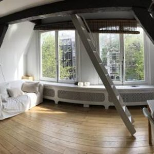 Canal View Loft In Centre in Amsterdam