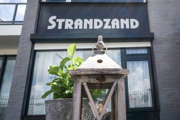 Strandzand in Noordwijk