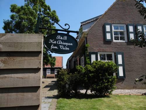 B&B Het Driespan in Middelburg