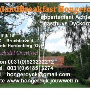 Bed & Breakfast Hongerdyck in Bruchterveld