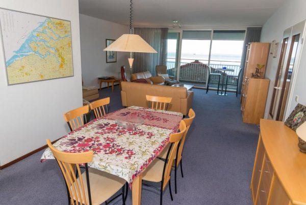 Appartement aan zee port scaldis 13 052