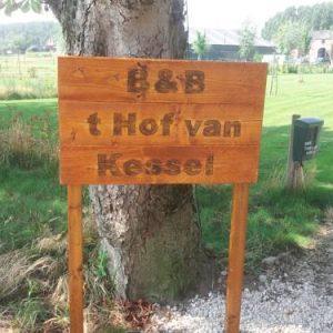 B&B ´t Hof van Kessel in Maren-Kessel