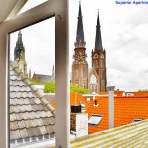 Luxury Apartments Delft III Flower Market in Delft