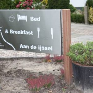 Bed & Breakfast 'Aan de IJssel' in Zwolle