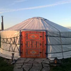 Mobo yurt in Hollandscheveld