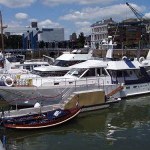 Maria Callas Yachthotel in Rotterdam