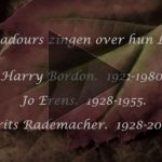 Drie Troubadours zingen over hun mooi Limburg.