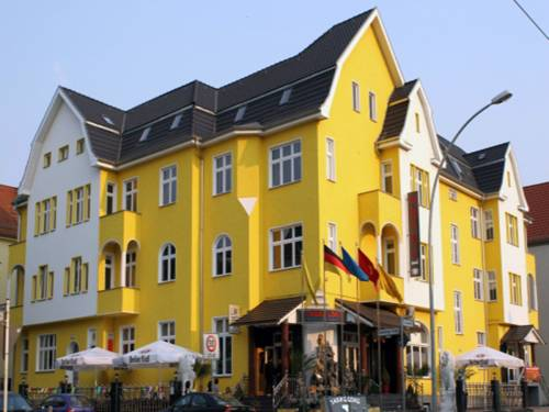 Entrée Hotel Berlin Karlshorst in Berlin